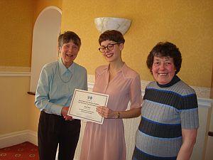 Emma West - Scholarship Winner