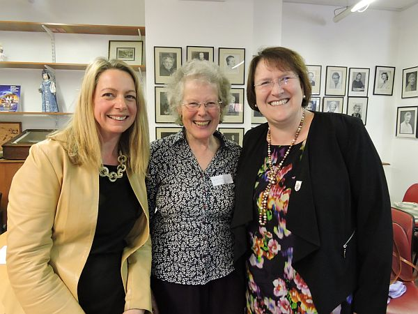 Penny Hoffmann-Becking, Heather Hawkes, Alex Blakemore