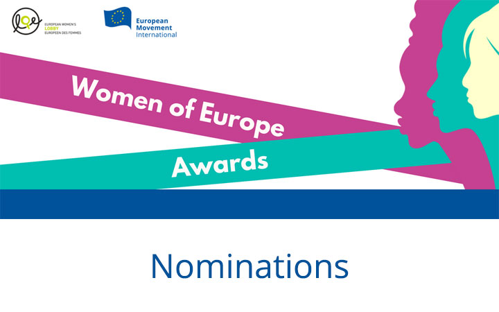 Nominations for Women of Europe Awards 2018