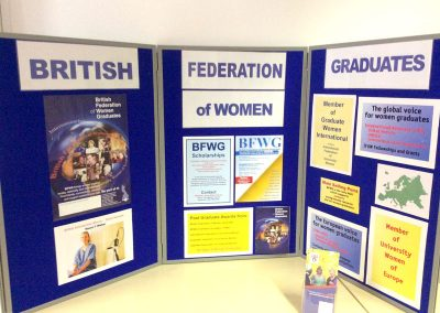 BFWG Celebration of Women Getting the Vote at Chancellors Hotel, The University of Manchester September 2018