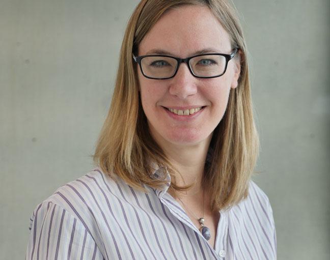 Marjorie Shaw BFWG Fellowship winner Mireille Widmer
