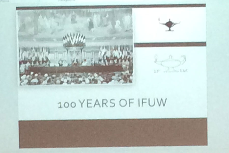 100 Years of IFUW