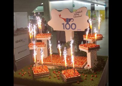 The Centenary Evening Cake