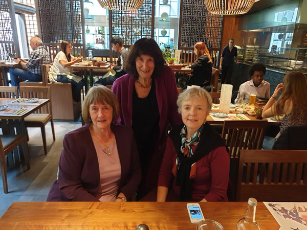 Dr. Patricia Gillard visits the UK