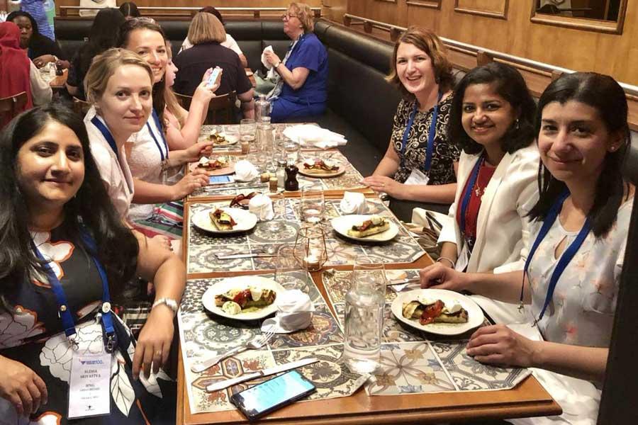 GWI Young Members' dinner