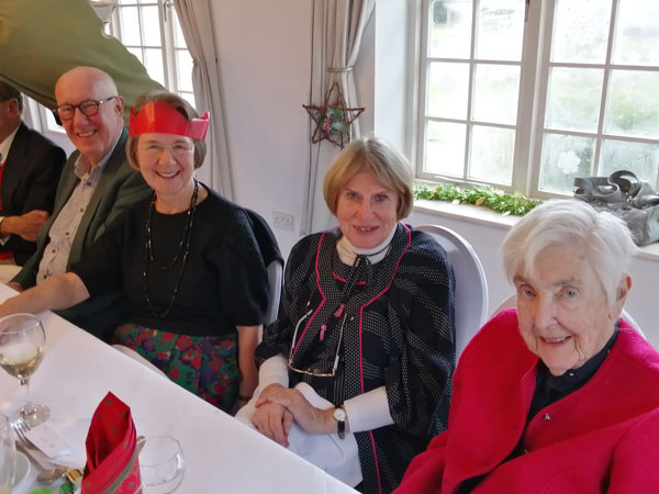 Canterbury and District LA Fundraising Christmas Lunch