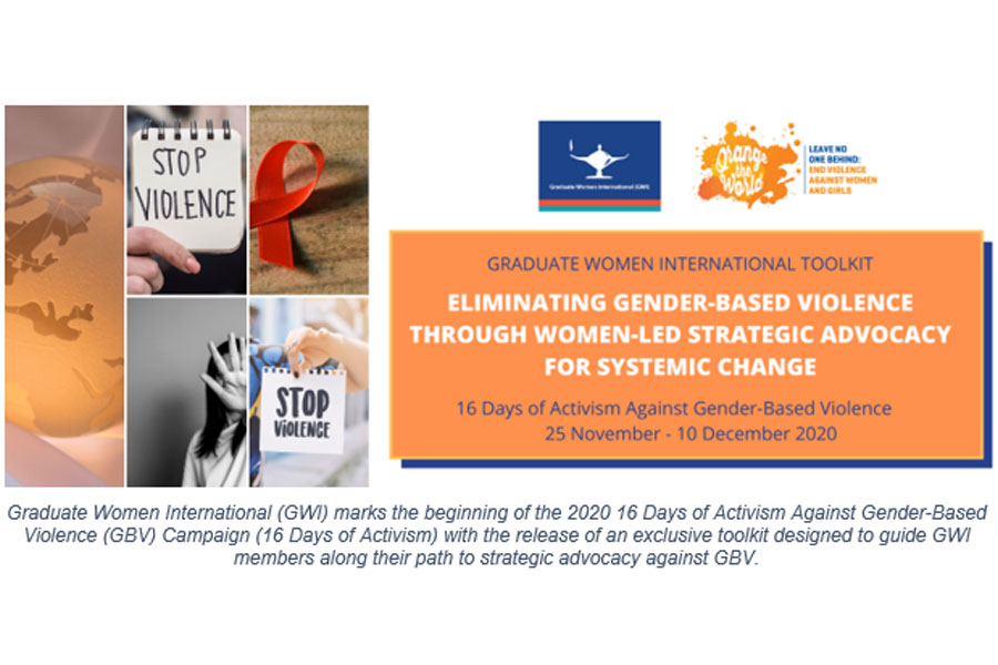 GWI 16 Days of Activism Against GBV Toolkit