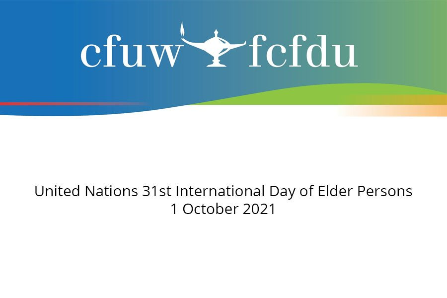 United Nations 31st International Day of Elder Persons